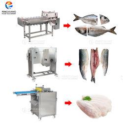 Fisch Kopf Schneidemaschine, Filetiermaschine, Haut Peeling Maschine