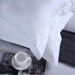 Custom Fabric Printing Superior Quality 100% Baumwolle 300tc Pure White Jacquard-Stoff für Hotel Bettwäsche-Set