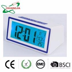 실내 온도가 있는 공장 데스크 소형 시계