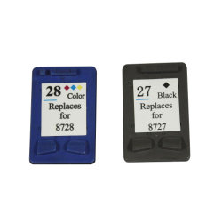 Картридж для HP C8727A, HP 27, HP 28