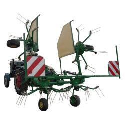 Impulsado por el rastrillo de heno de la TDF ajustable de licitación se utiliza para el tractor