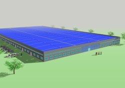 مبنى ورشة عمل حول تركيب الصلب في إثيوبيا