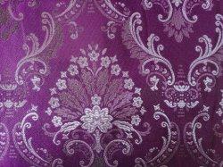 Riga filato metallico della Tabella del coperchio del sofà di Deco della casa del tessuto del jacquard della Doubai dell'accumulazione di Olivia del tessuto della tenda del cuscino