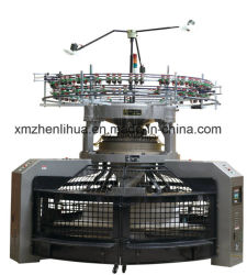 20 años de la fábrica OEM Inter-Rib de alta velocidad de ancho de tricotosa Circular abierto