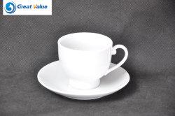 Classic esmalte portátil Camping Caneca/chávena de café e pires de diferentes especificações
