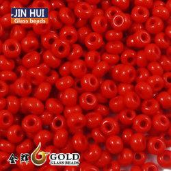 Jin Hui de color rojo opaco de alta calidad de semilla de cristal Beads 12/0 Bisutería