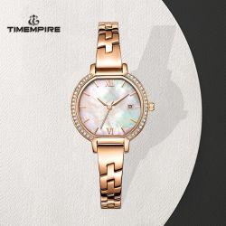 عصريّ مرو إمرأة فولاذ مجوهرات ساعة ماس ساعة (71162)
