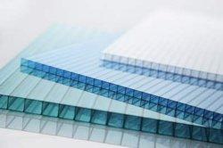 Пластиковый Bonai производители парниковых газов 8мм поликарбоната PC полой Triple-Wall лист/Пластины