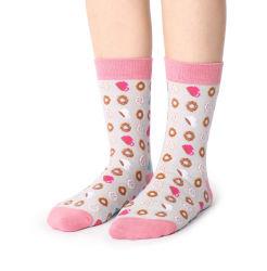 Custom lindo divertido de la mujer loca calcetines señoras Japón divertido vestido de algodón sin fisuras de los calcetines para la Mujer