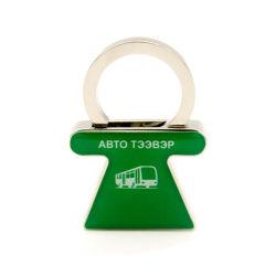 Porte clés personnalisé de haute qualité CADEAU Bague en métal escamotable Support pour téléphone