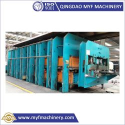Type de trame automatique de la plaque de caoutchouc de la vulcanisation durcissement hydraulique Appuyez sur la touche avec la norme ISO BV SGS