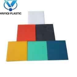 Couleur unique de la plaque en PEHD avec texture/finition texturée feuille de plastique HDPE