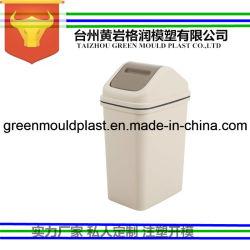 Poubelle en plastique moule à injection à l'intérieur du moule poubelle