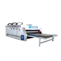 La stampante ondulata Slotter dell'inchiostro di Flexo del cartone muore la macchina della taglierina