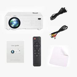 Pico Pocket Portable Mini projecteur LCD 20~70 pouces Mobile Film l'appui des cadeaux jeux électroniques pour les enfants de l'éducation Home Cinema d'affaires