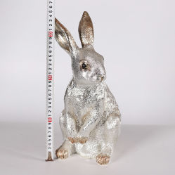 Conejo Figurilla de bronce de la India de resina Decoracion Productos