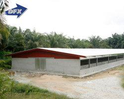 Schweinehaltung Stahlbau Geflügelhaus mit Metallmaterial
