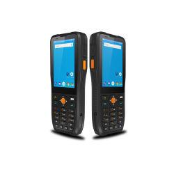 Dispositivo PDA 4G WiFi Android GPS Bluetooth 1d 2D Leitor Scanner de código de barras QR