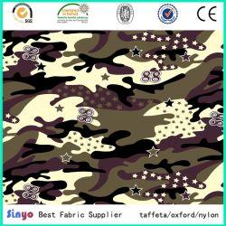 Impressão Digital de camuflagem africana Oxford tecido 600d para os militares mochilas