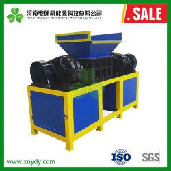 Двойной вал Бумагорезательная машина машины для удаления отходов, сточных бытовых, холодильник, мебель для отходов