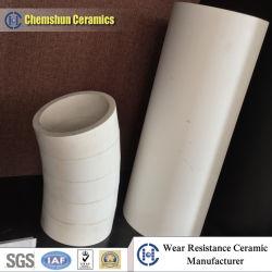Engenharia de óxido de alumina Ceramic dobre a guarnição do tubo com Costmized grau