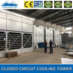 공기 압축기 이용된 저잡음 혼합 교류에 의하여 닫는 냉각탑