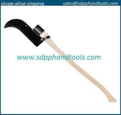 """Gancho de Bush com uma lâmina de encapsulamento Single-Edge 12"""" apertada a 36"""" de Machado de madeira curvo, lâminas de banco de Fosso de alta qualidade"""