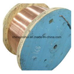 알루미늄 도체 합금 도체 강화 구리 클래드 경첩식 와이어 PVC NBR sheathed 용접 전기 케이블 CCA