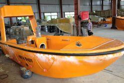 Botes de rescate de agua utilizada en barco de la vida Aprobado, ABS, certificado de CCS