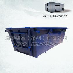 Déchets et ordures/corbeille/poussière/SKIP/bac de levage de la chaîne avec porte