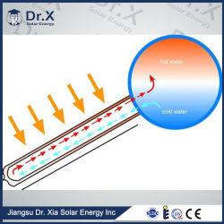 100L Tube à vide pour le bain d'utilisation du chauffage solaire