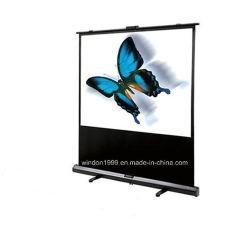Tela de piso, tela do projetor portátil com preço competitivo