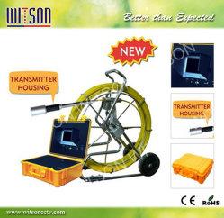 Apparatuur 60m/120m van de Camera van de Inspectie van het Riool van het Controlemechanisme Moniter van Witson DVR Kabel met de Teller van de Meter (w3-cmp3288-MC)