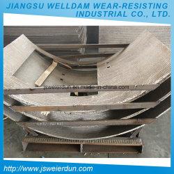 Máquina de construcción de la placa de soldadura de superposición de línea de producción de acero accesorios de metales duros