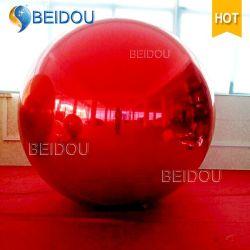 Mini LED miroir décoratif PVC ballon gonflable Disco boules miroirs