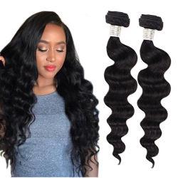 5% van de Losse Diepe Maagdelijke Natuurlijke Uitbreiding van het Menselijke Haar van de Uitbreiding van het Haar van de Band Remy