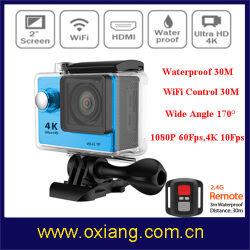 Waterdichte 1080P 4k Sports Action Camera voor Outdoor Sports