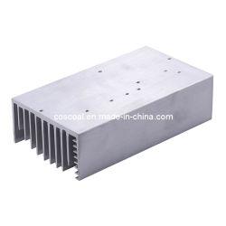 Zwart Geanodiseerd Aluminium Heatsink voor leiden en Elektronika