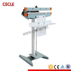 Saqueta Operado por Pedal eficiente máquina de vedação com marcação CE