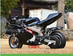 Tirez l'essence de début et de démarrage électrique Dirt Bike 49cc Moto pour les enfants