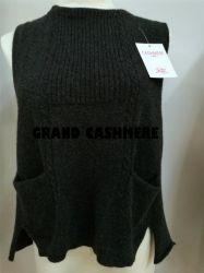 Lady's Cashmere veste tricot de câble