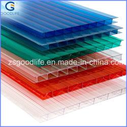 UV creux Anti-Dripping Makrolon feuille à effet de serre en polycarbonate transparent