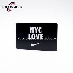Carte en plastique PET, PVC/LF/HF/UHF, CMJN imprimée de la carte