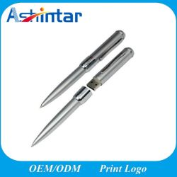 Forma de lápiz de memoria USB Flash Drive USB de metal/disco Flash USB 2.0 USB3.0