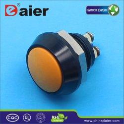 12mm de Kleine Schakelaar van de Drukknop van de Koepel van het Metaal (GQ-12B/A)