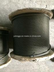 18*Non-Rotating 7-13mm Wire Rope, Wire Rope en acier noir