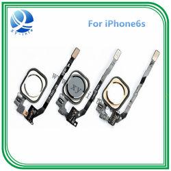 Telefone celular Botão Home para iPhone 5s Wholesales cabo flexível de Ouro Preto e Branco