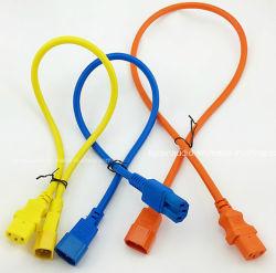 Высокое качество UL VDE шнур питания переменного тока IEC C13 C14 C15 C19 C20 C5 C7 Powercon удлинительный шнур SAA Inmetro