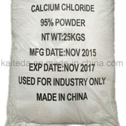 Blanc paillettes de chlorure de calcium 77 % de classe alimentaire