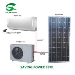 Economizando energia 90% na grelha com painel solar Acdc Condicionador de Ar